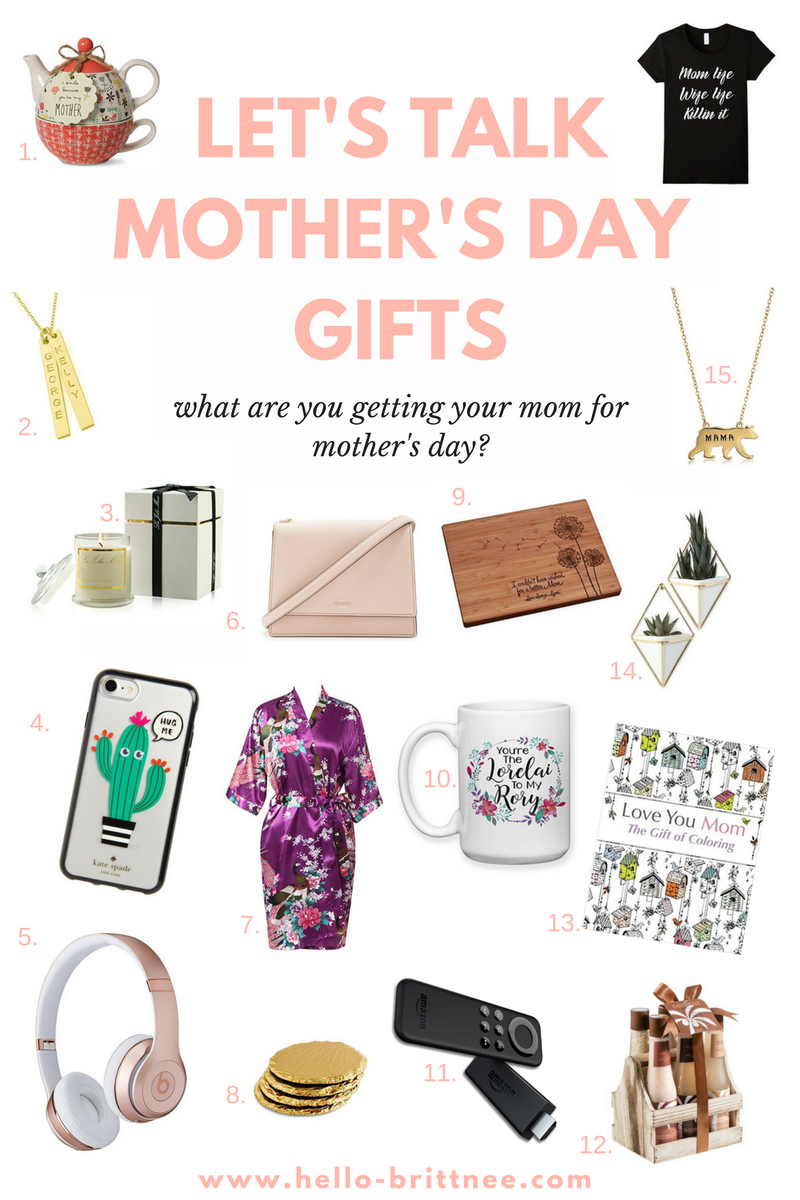 15 Gift Ideas for Mother's Day