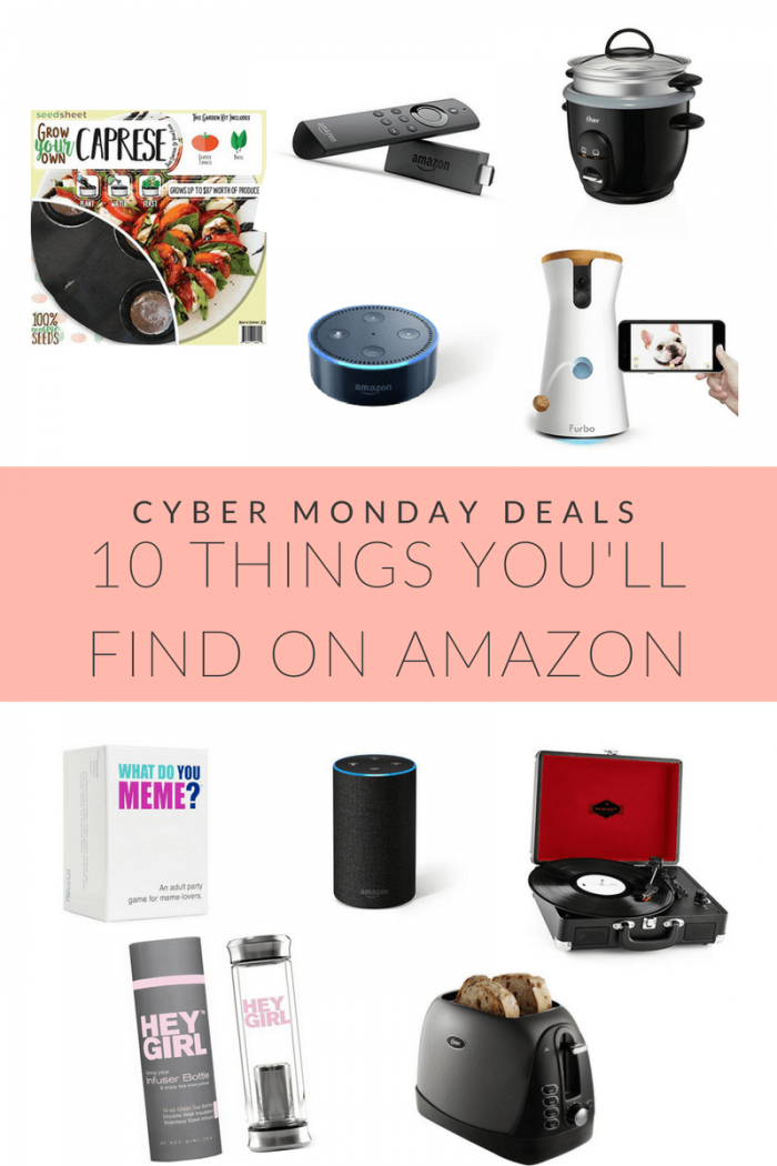 10 Cyber Monday Deals on Amazon