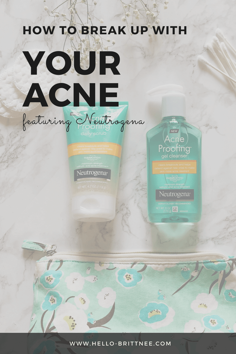 How to Break Up with Your Acne featuring Neutrogena