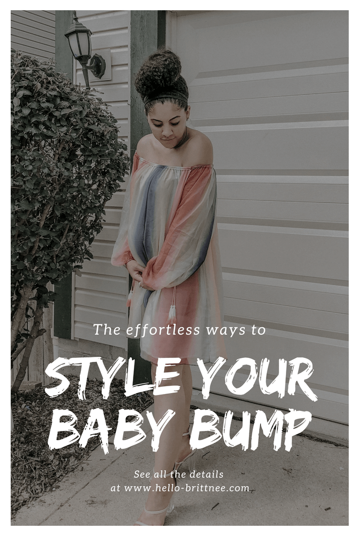 Tips & tricks to style your baby bump with maternity clothes and the right mindset that will leave you feeling cute and comfortable.