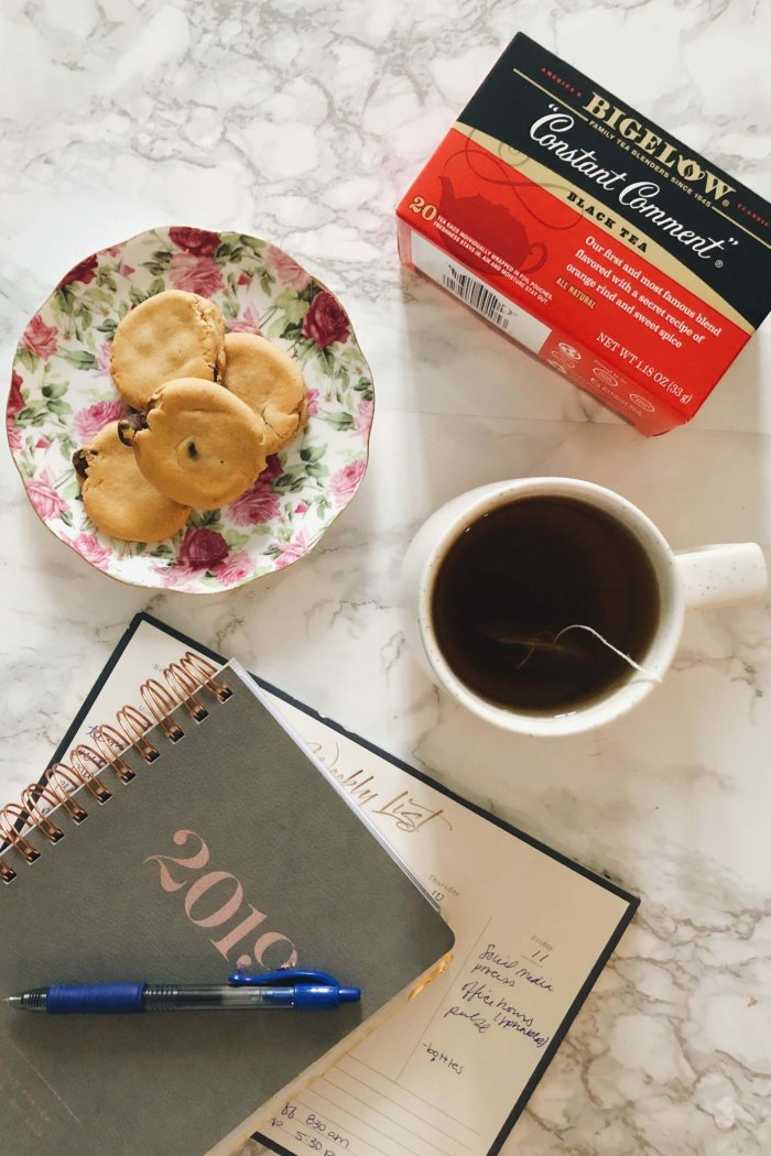 Simple Ways to Unwind for Hot Tea Month with Bigelow Tea