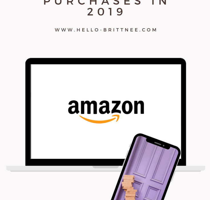My Favorite Amazon Prime Purchases in 2019